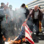 us flag burning