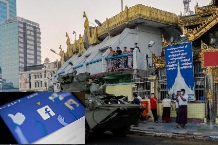 فیس بک نے تشدد پر اکسانے کا الزام لگا کر برمی فوج کا سرکاری مصدقہ صفحہ بند کر دیا