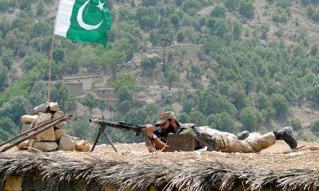 پاکستان اور ہندوستان کی افواج کا کشمیر لائن آف کنٹرول پر فائربندی کا اعلان