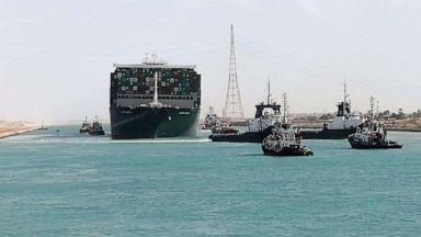 نہر سوویز میں پھنسے تجارتی بحری جہاز کو 6 روز کے بعد نکال لیا گیا: بندش سے فی گھنٹہ 40 کروڑ ڈالر کا نقصان ہوا
