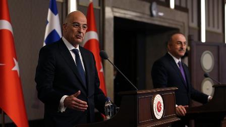 ترکی و یونانی وزرائے خارجہ کی کشیدگی کم کرنے کیلئے ملاقات تلخی و الزامات پر ختم