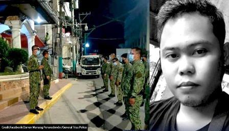 فلپائن: کورونا تالہ بندی کی خلاف وزی پر اٹھک بیٹھک کی سزا، شہری ہلاک